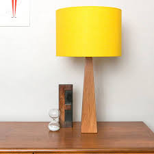 yellow wooden table lamp wooden lamp hard wood and lamp bases