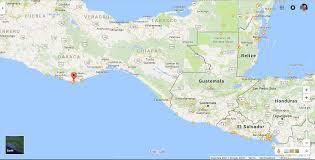 Map Of Oaxaca Mexico by Lake Atitlan Guatemala To Zipolite Mexico Grandpacking