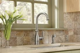 moen brantford kitchen faucet moen 7735csl brantford single handle high arc kitchen faucet with