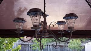 Diy Solar Light by Diy Solar Light Chandelier Restyle4life