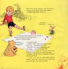 Winnie The Pooh Writing Paper Winnie The Pooh Upside Down Books Jimmy Stewart On The Air