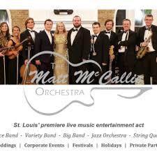 st louis wedding bands hire the matt mccallie orchestra l l c wedding band in st