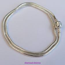 silver plated bead necklace images Silver plated love snap clasp 3mm snake chain european charm bead jpg