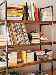 Industrial Pipe Bookcase How To Make A Freestanding Industrial Pipe Bookcase Pipes