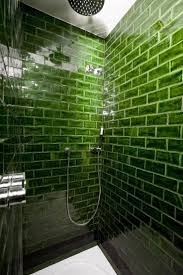 Bathrooms With Subway Tile Ideas by Best 25 Glass Tile Shower Ideas On Pinterest Glass Tile