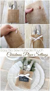 How To Set Silverware On Table Best 25 Christmas Place Setting Ideas On Pinterest Christmas