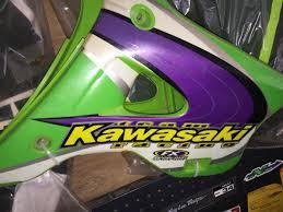 used motocross helmets for sale team kawasaki jeff emig factory effex 94 98 kx125 kx250 used