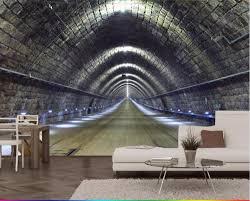 online get cheap 3d tunnel mural aliexpress com alibaba group
