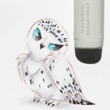 snowy owl by craziiwolf on deviantart