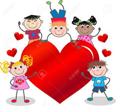 valentines day kids valentines day or birthday royalty free cliparts vectors and
