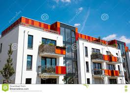 modern multi family house in berlin stock photo image 75863429