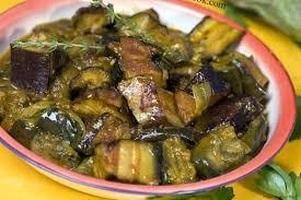 cuisiner aubergine facile recette de rougail boucané bringelles aubergines la recette facile