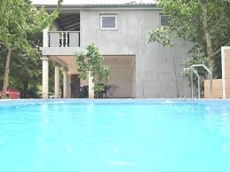 apartment in holiday home with pool spacious garden with grill