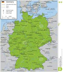 Wurzburg Germany Map by Germany Map With Selectable Territories Vector Stock Vector