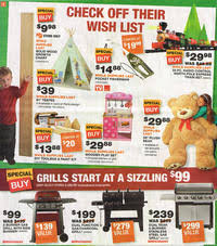 black friday home depot ad home depot black friday 2015 ad scan