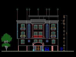 autocad architektur building elevation cad drawings cad blocks
