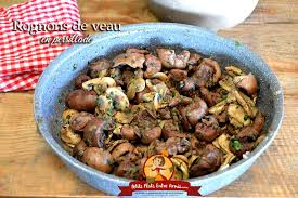 cuisiner les rognons de veau rognons de veau en persillade petits plats entre amis