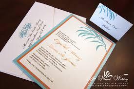 Beach Wedding Invitation Cards Orange Designs U2013 Page 3 U2013 A Vibrant Wedding