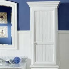 White Towel Cabinet Bathroom Linen Storage Cabinets Bath Design Ideas