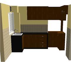 kitchen cabinet design for small apartment iquest designs simple kitchen cabinet design for small
