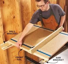 dewalt table saw rip fence extension tablesaw extension popular woodworking magazine