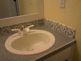 Mosaic Bathroom Ideas Bathroom Backsplash Mosaic And Mirrors Vanity Tile Glass 7del