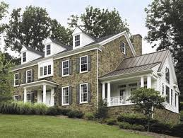 Hip Roof Colonial House Plans Colonial House Styles