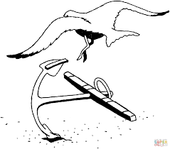 seagulls coloring pages free coloring pages