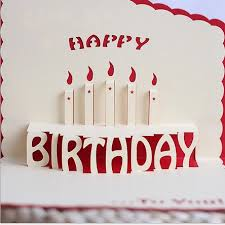 custom birthday cards 3d birthday invitation cards employees logo manufacturer custom