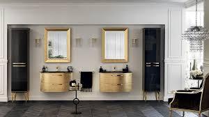 italian bathrooms bathrooms washbasins in gold leaf finish bring opulence into the