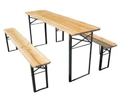 Design For Wooden Picnic Table by Outdoor Long Wooden Picnic Table Made From Reclaimed Wooden Top