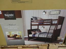 Bayside Bunk Bed Bayside Furnishings Bunk Bed Costco Bedroom