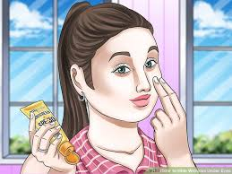 hair to hide forehead wrinkles 3 ways to hide wrinkles under eyes wikihow