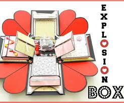 how to make an explosion box diy paper crafts exploding