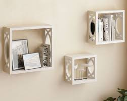 Wall Shelves Top 20 White Floating Shelves For Home Interiors