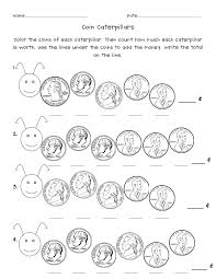 Counting Coins Worksheet Generator Spa12