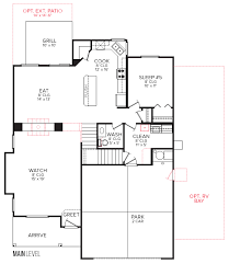 floor layout cbh homes sundance 2710 floor plan