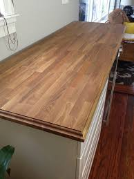 living on the edge adding a decorative edge to butcher block
