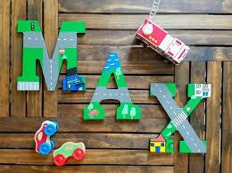 chambre b b cars wooden letters for nursery car nursery decor nursery wall