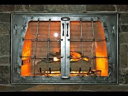 Superior Fireplace Glass Doors by Fireplace Doors Fireplace Doors Installation Youtube