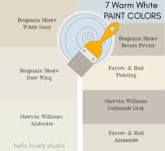 what is the best benjamin white paint for kitchen cabinets 7 gorgeous warm white paint colors to consider hello lovely