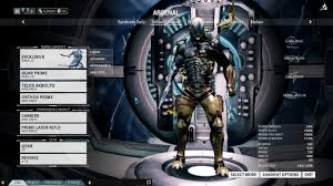 color scheme excalibur proto armor general warframe forums