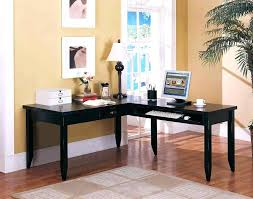 Small Corner Computer Armoire Desk Wood Corner Computer Desk With Drawer Compact Corner