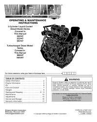 100 2002 briggs 16 hp vanguard owners manual engines u0026