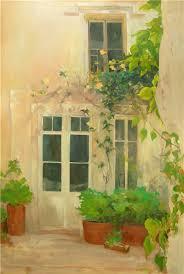 villeneuve oil painting in progress creative color