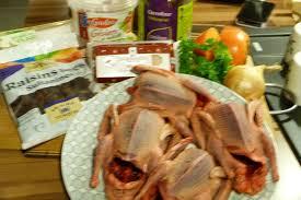 cuisiner pigeon recette land recette de pigeons farcis aux raisins marrons