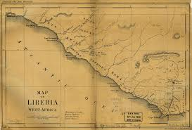 Liberia Map From Colony To Independence Mid 19th Century Maps Of Liberia