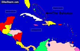 bahamas on a world map bahamas
