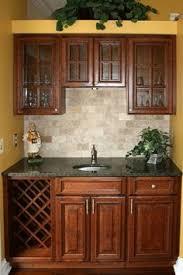 Dark Cherry Kitchen Cabinets Cherry Kitchen Cabinets With Off White Island Kitchen Ideas