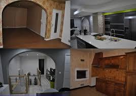 maison rénovée avant après renovation maison avant apres travaux cuisine naturelle